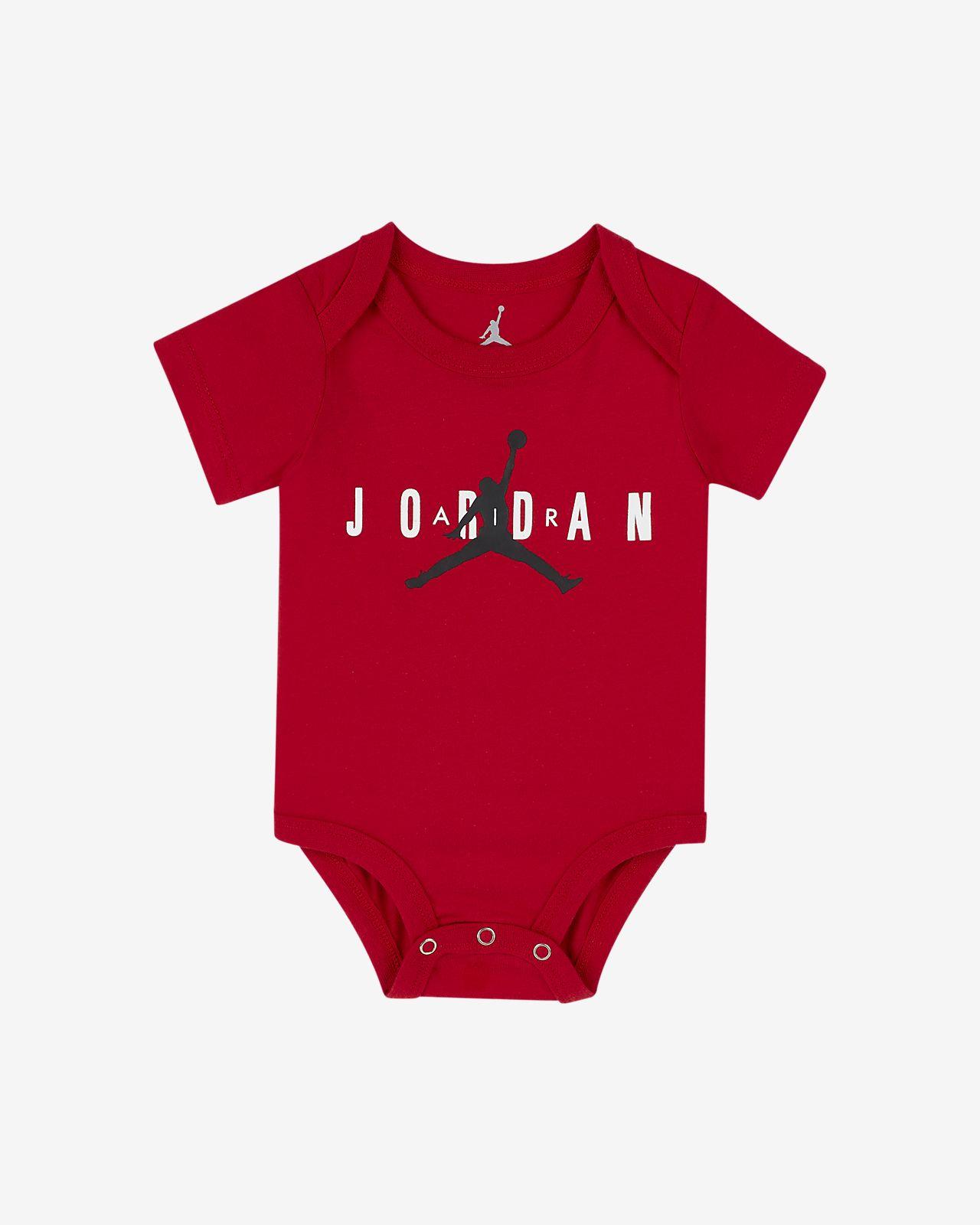 Jordan Jumpman-body med grafik til babyer
