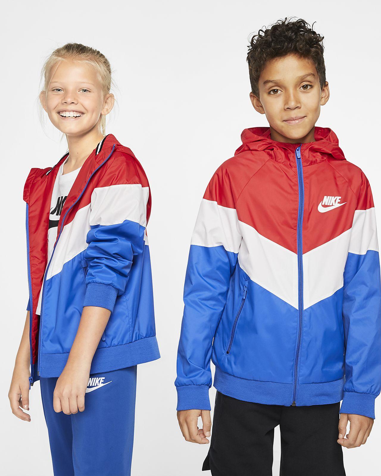 Nike Sportswear Windrunner大童(男孩)夹克