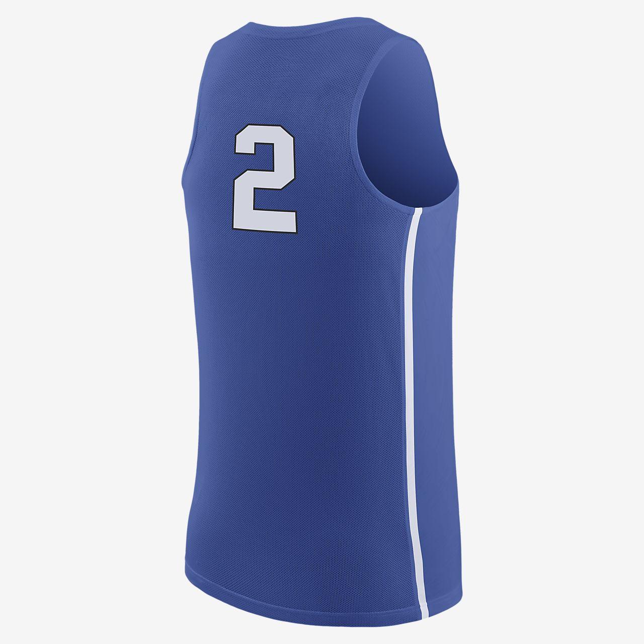 official photos d1648 31784 Nike College Replica (Duke) Men's Basketball Jersey