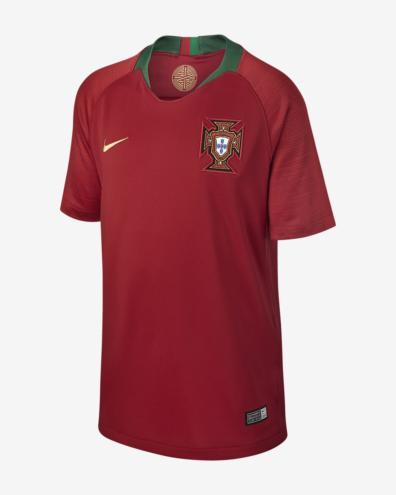 2018 Portugal Stadium Home Older Kids' Football Shirt