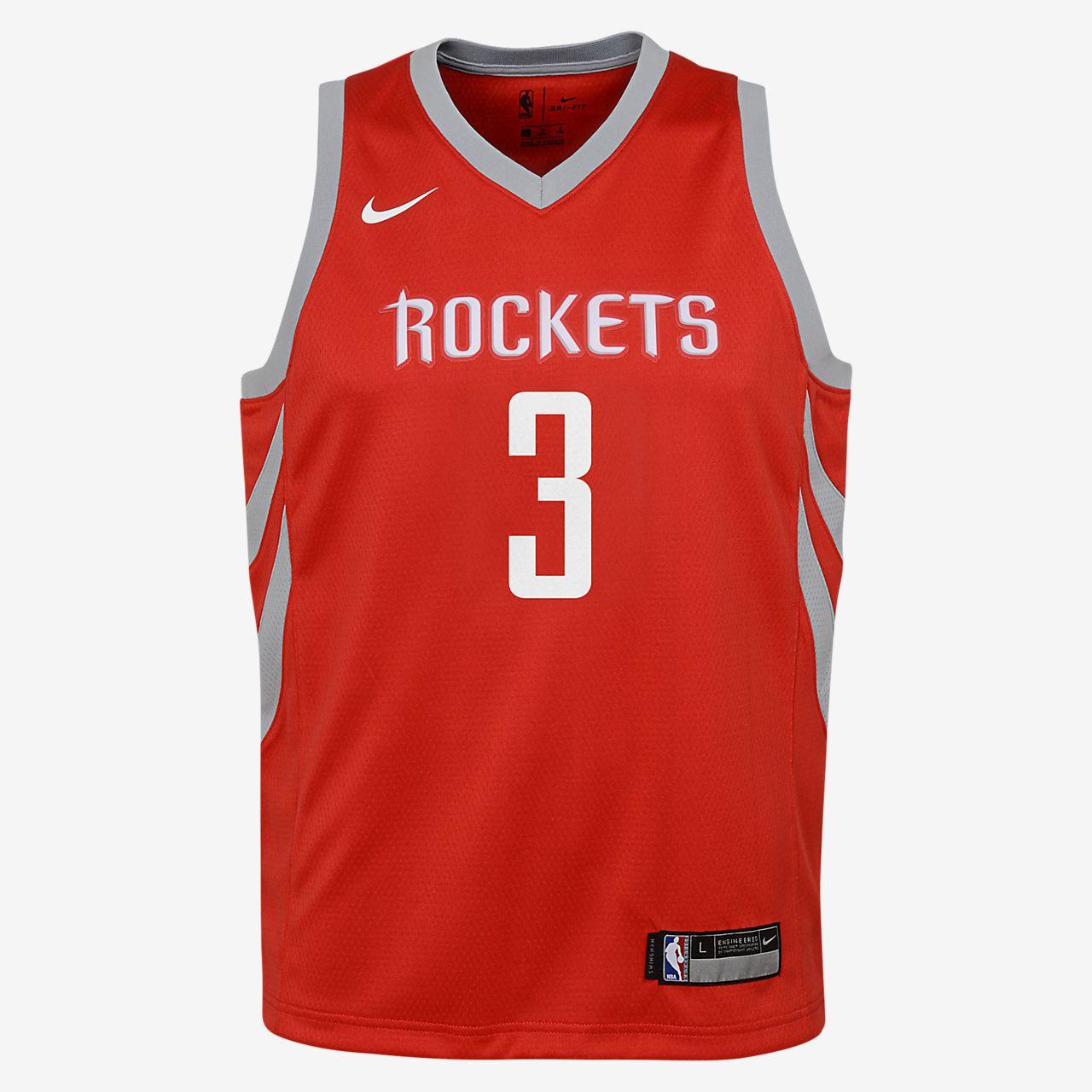 4fe4e61a6 ... chris paul houston rockets nike icon edition swingman big kids nba  jersey