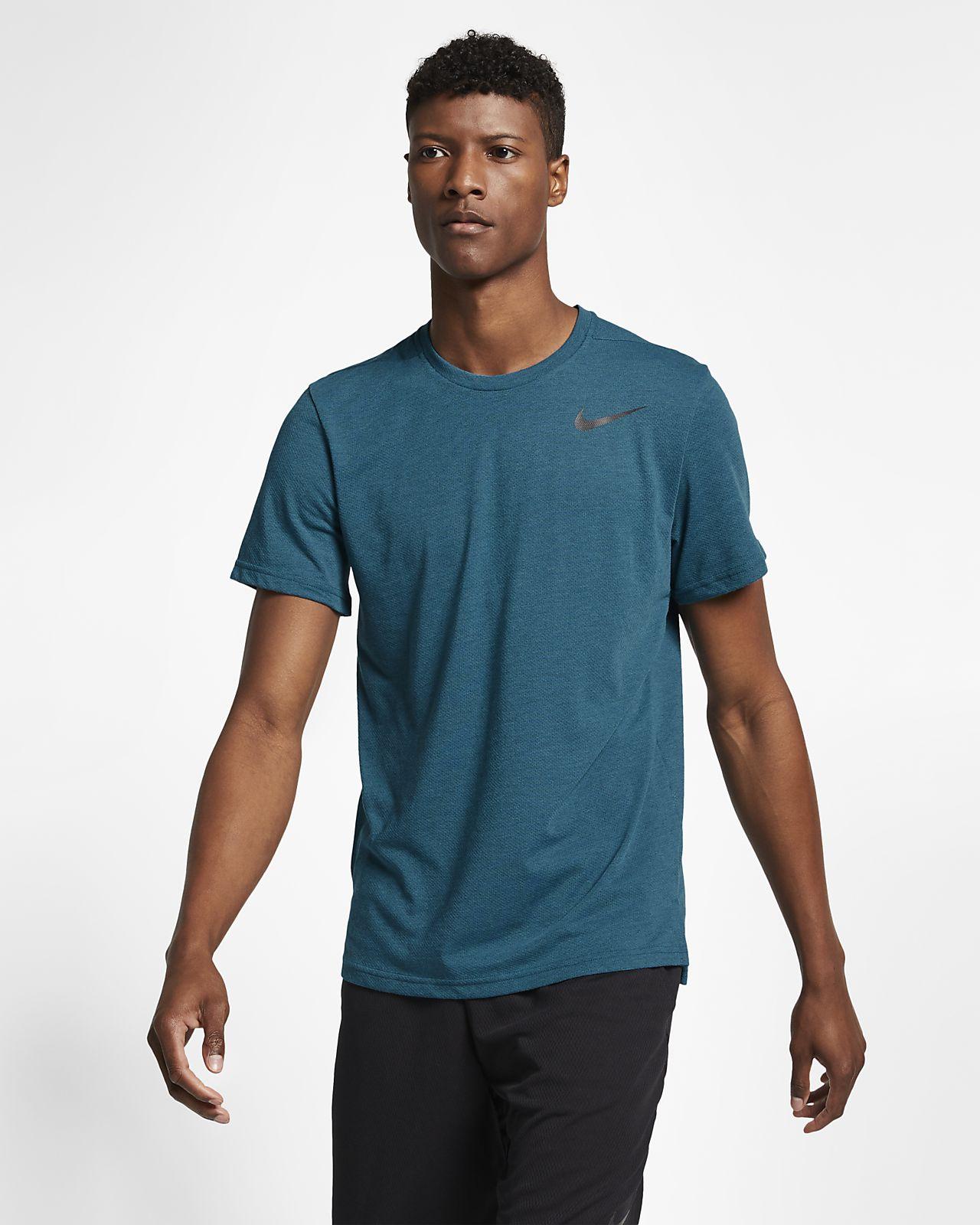 Prenda para la parte superior de entrenamiento de manga corta para hombre Nike Breathe