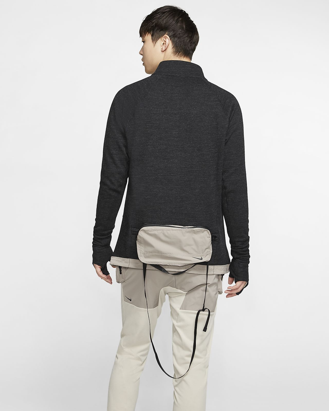Nike Sportswear Tech Varsity Jacket (Khaki Black)