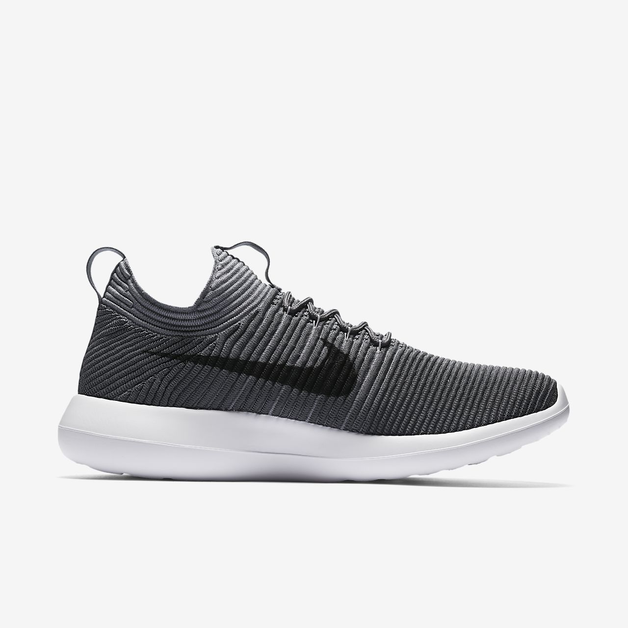 nike roshe flyknit triple black buy now button