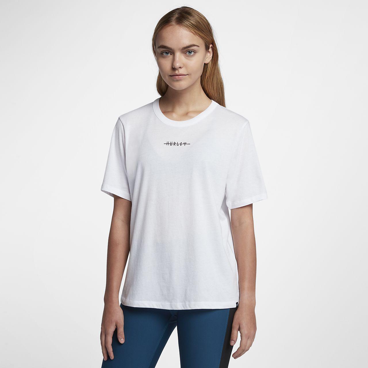 Hurley Island Ties Perfect Crew T-shirt voor dames