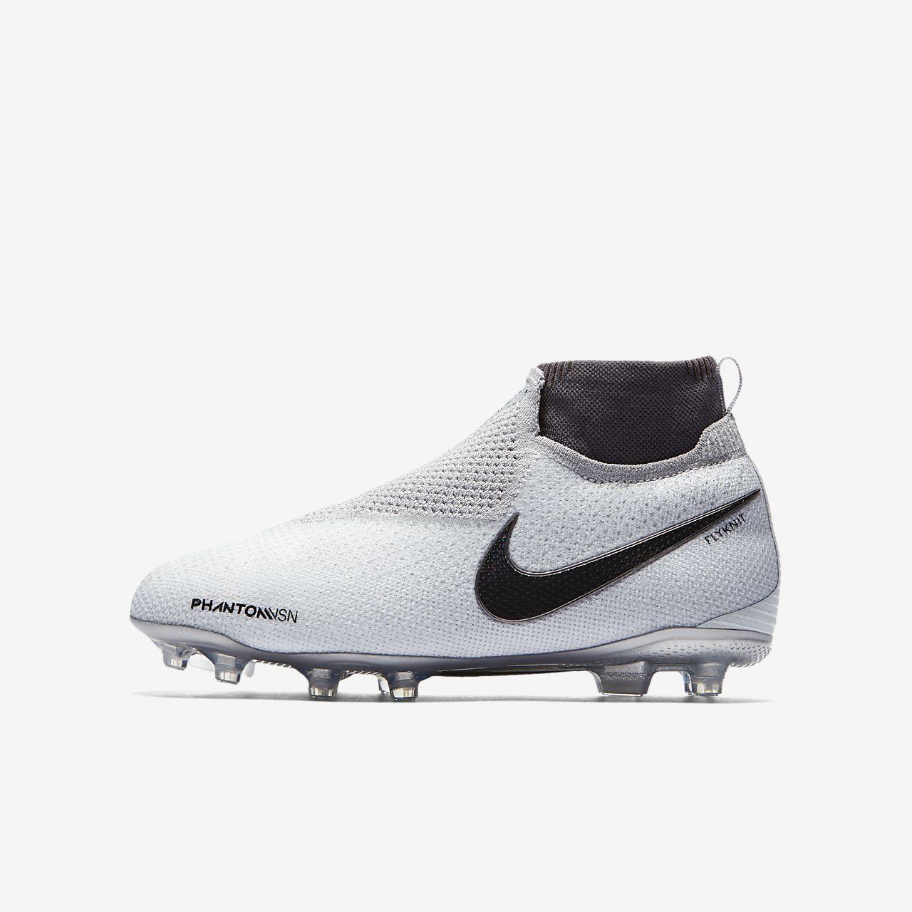 Chaussure de football multi terrains à crampons Nike Jr. Phantom