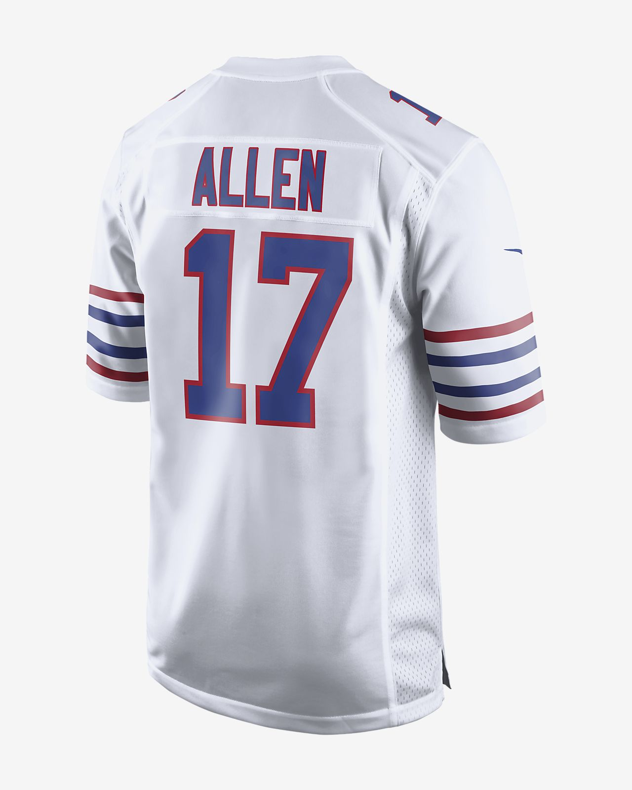 competitive price adf9f 74243 NFL Buffalo Bills (Josh Allen) Men's Game Football Jersey