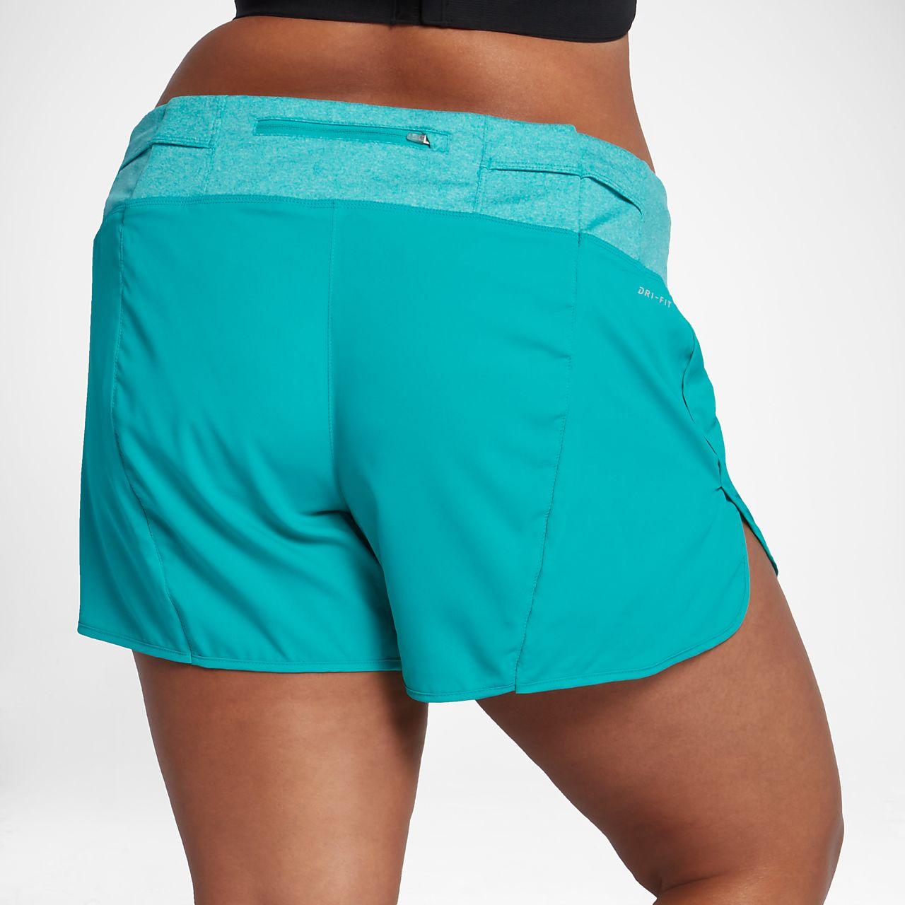 "nike rival women's 5"" running shorts (plus size). nike"