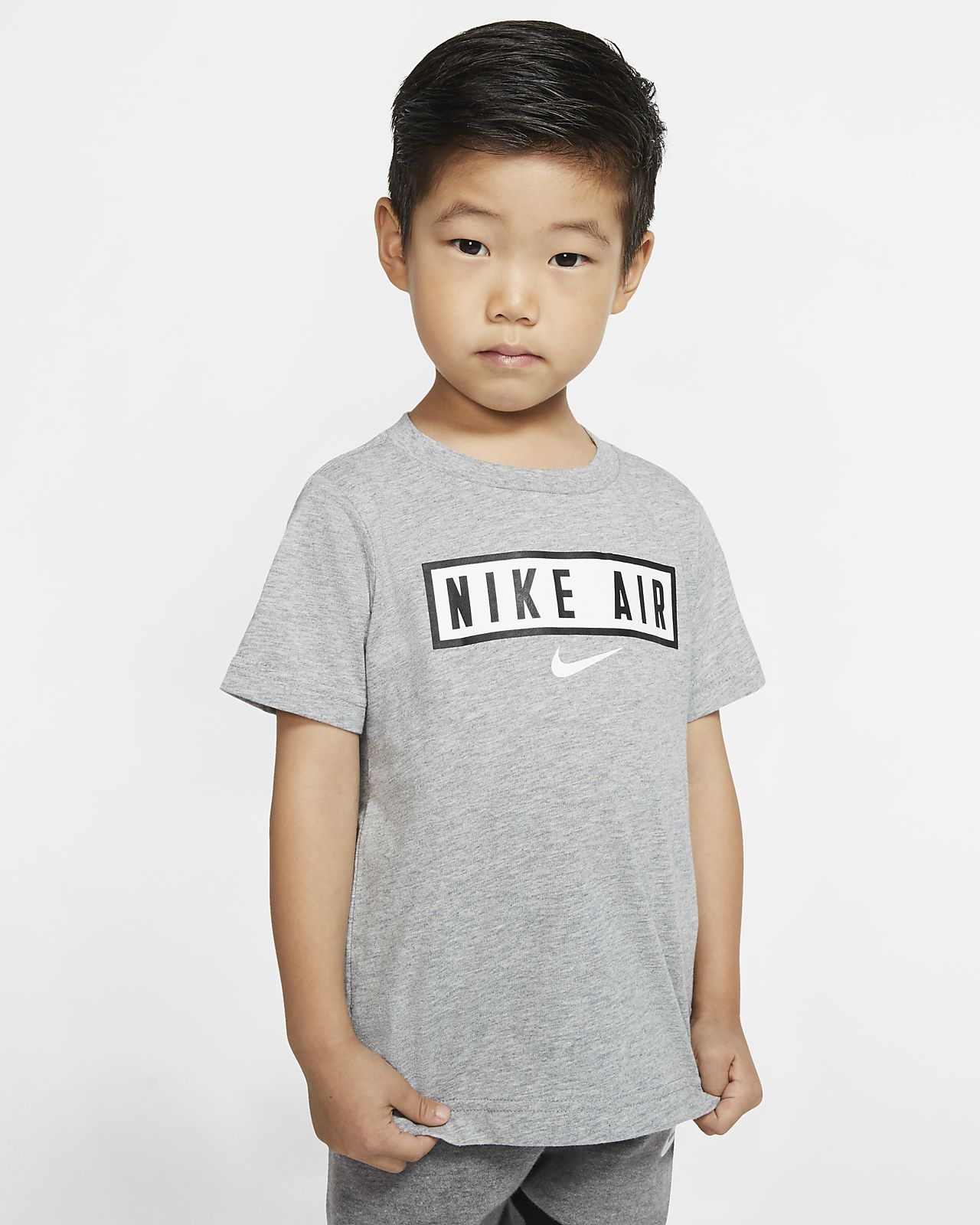 T-shirt z krótkim rękawem dla maluchów Nike Air