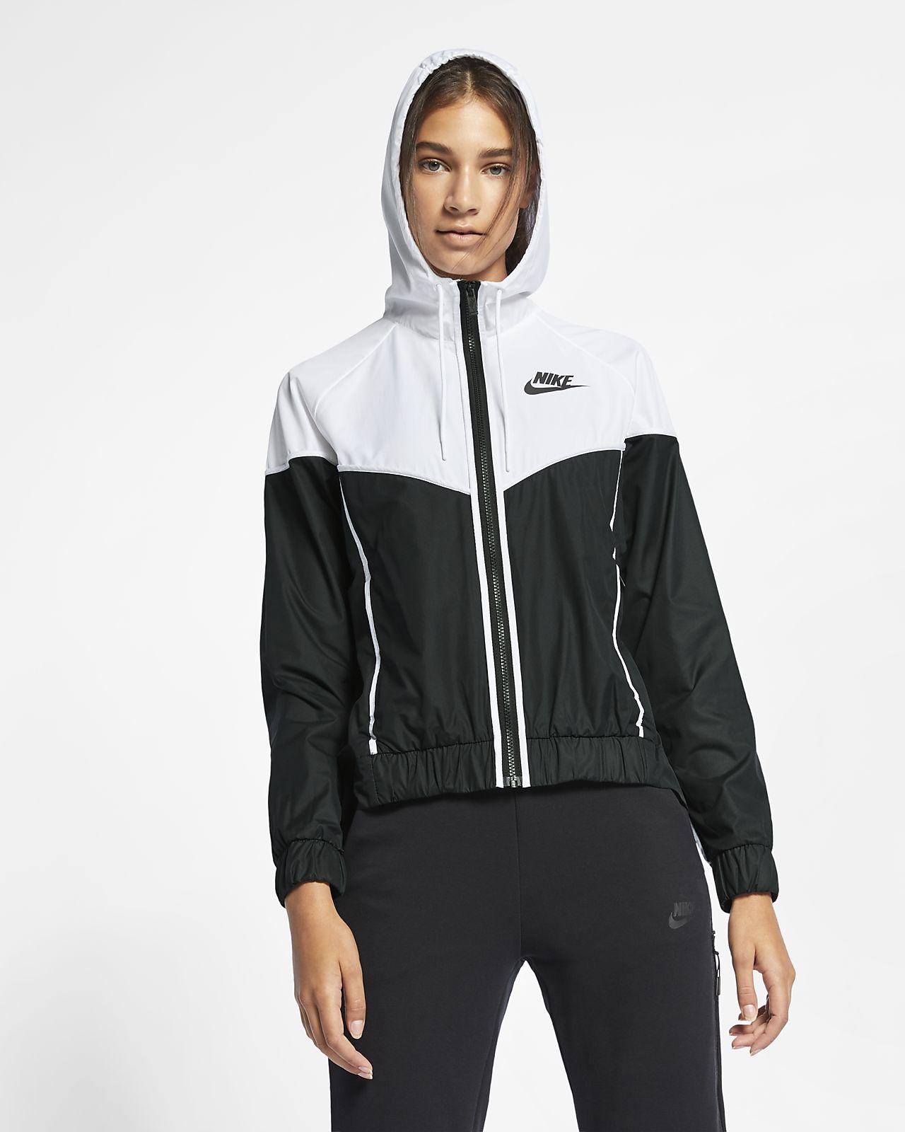 Vævet Nike Sportswear Windrunner-vindjakke til kvinder