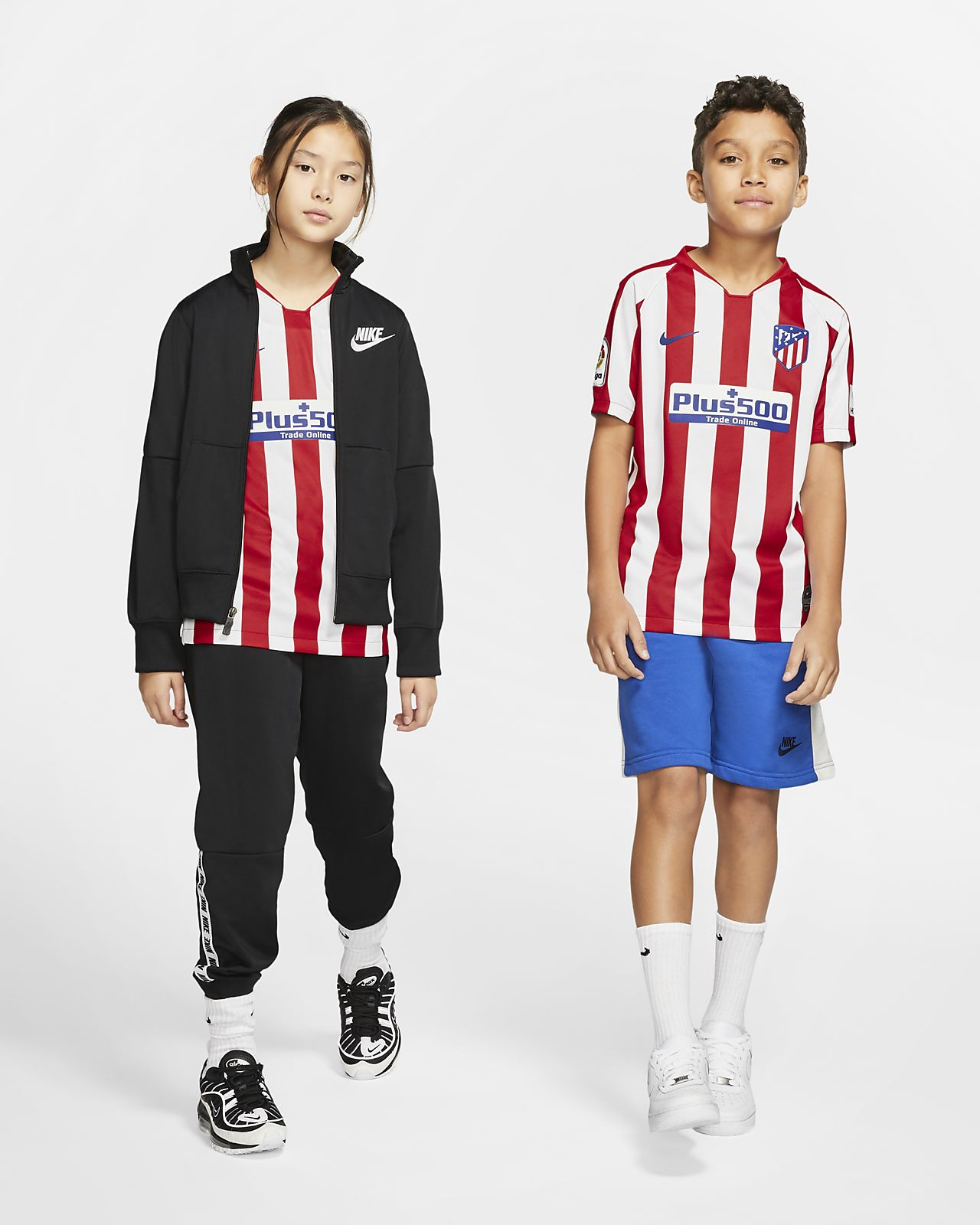 Atlético de Madrid 2019/20 Stadium Home Older Kids' Football Shirt