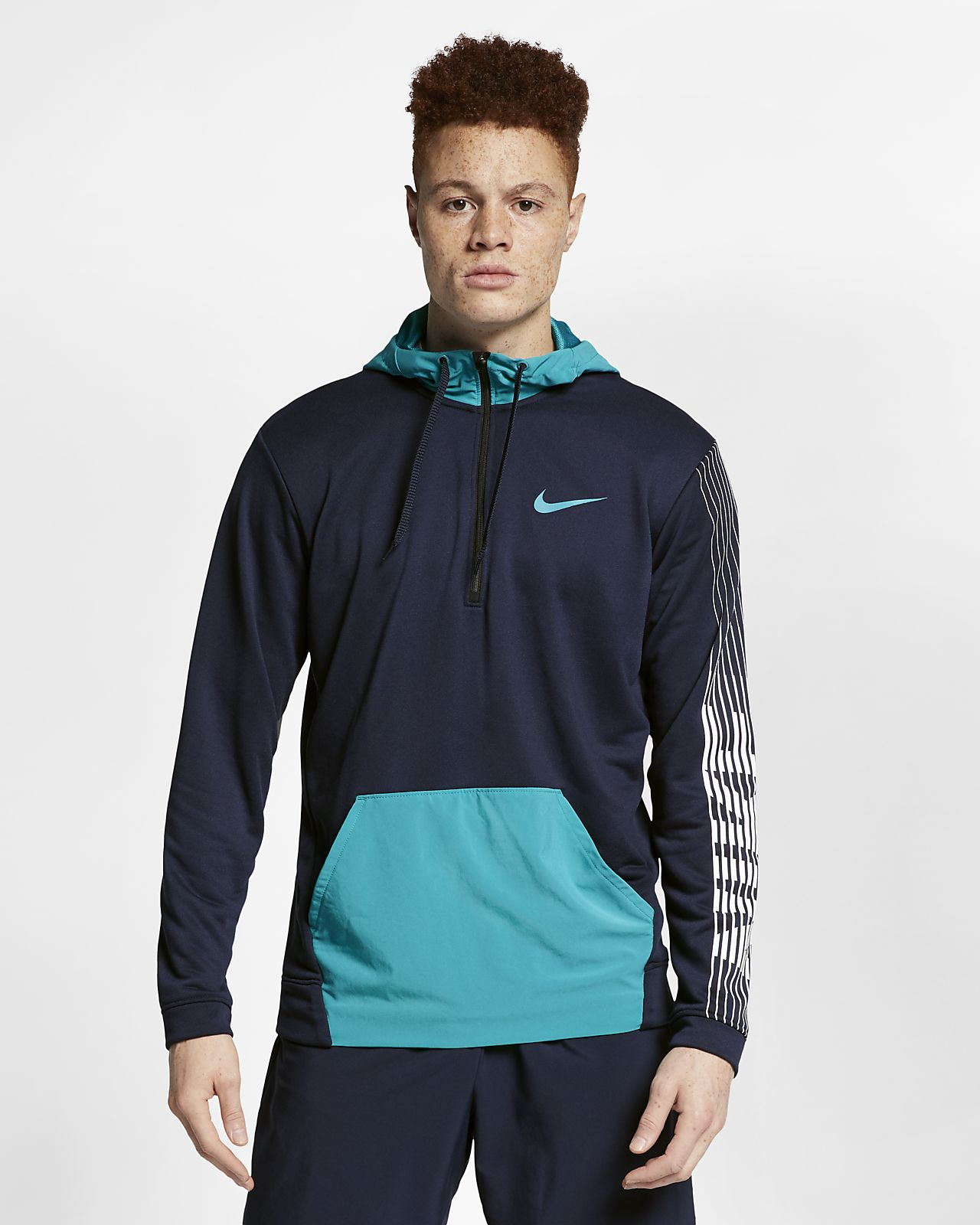 Nike Dri-FIT Trainingshoodie van fleece voor heren