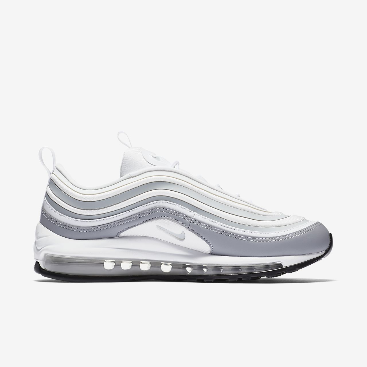 nike air max 97 ultra '17 women's shoe white closed
