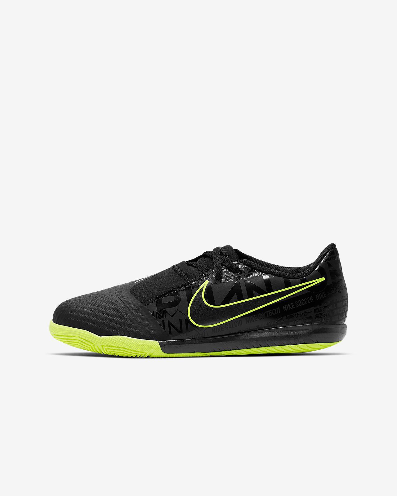 Nike Jr. Phantom Venom Academy IC-fodboldstøvle til store børn til indendørs