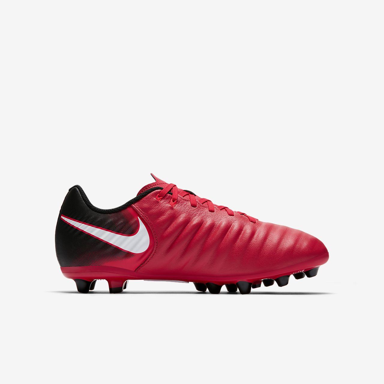 ... Nike Jr. Tiempo Ligera IV AG-Pro Younger/Older Kids' Artificial-