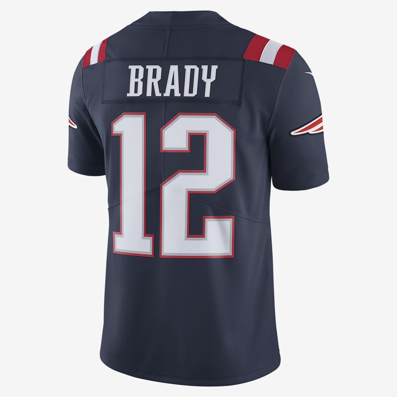 tom brady's football jersey