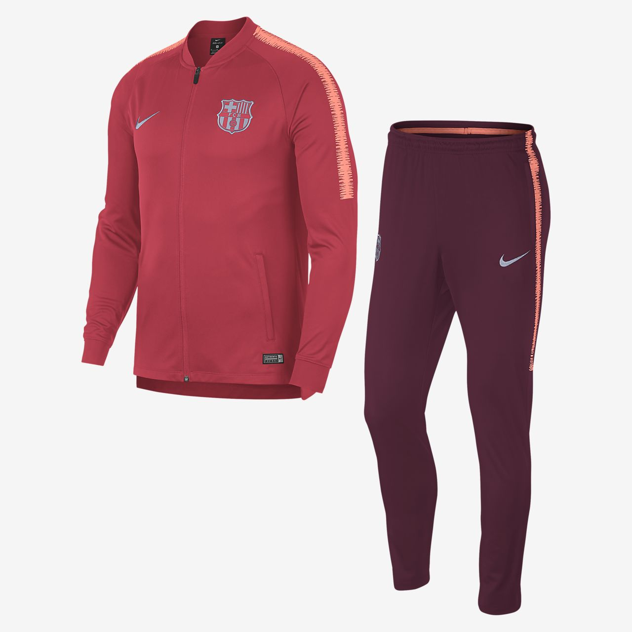 e5fa542b2e FC Barcelona Dri-FIT Squad Men s Football Track Suit. Nike.com LU