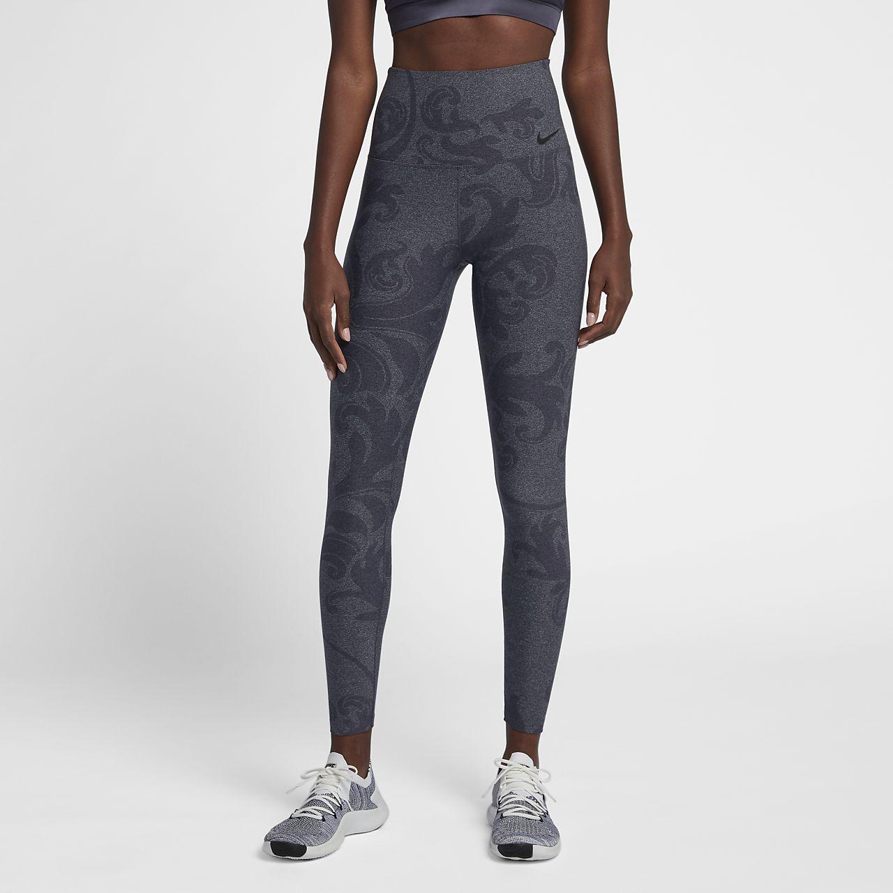 Nike Dri-FIT Power Studio Women s Printed Training Tights. Nike.com GB 2a327b78c