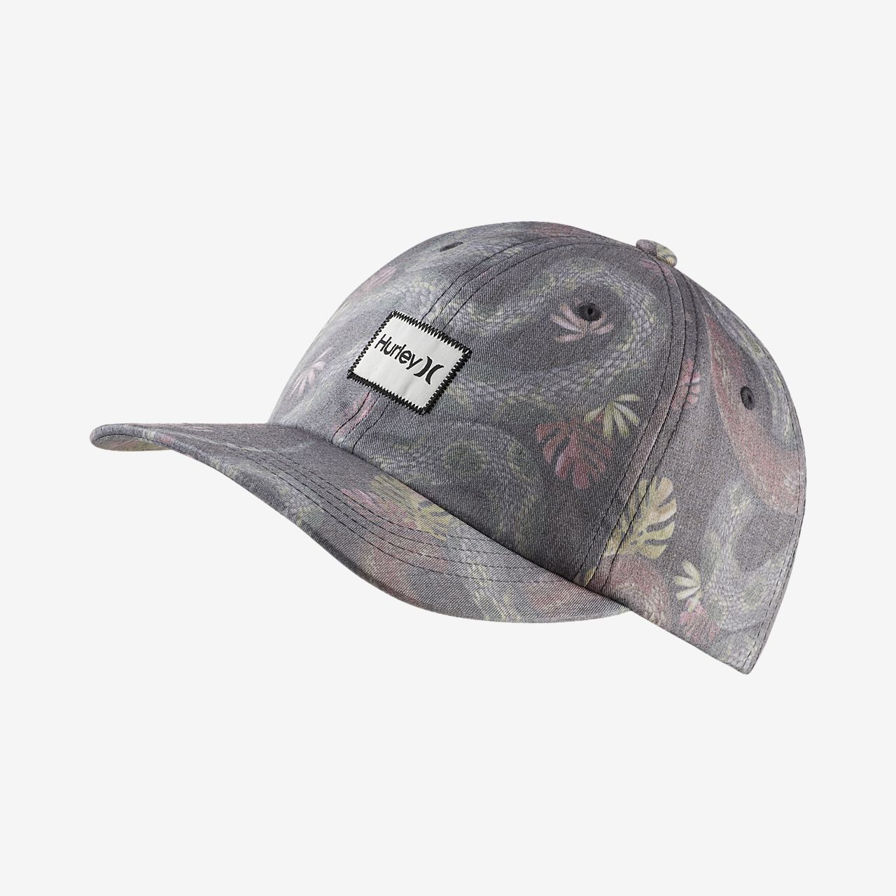 9796d184496 sale gray black mens hurley dri fit bali flex hat 20821587 2018 new style  9cb6f 3eafa  where to buy hurley tread lightly mens hat f16a6 c4e76