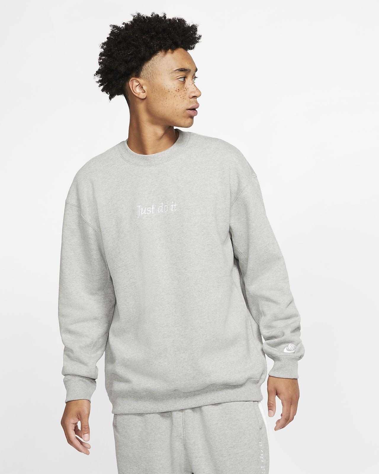Maglia a girocollo in fleece con cappuccio Nike Sportswear JDI Heavyweight - Uomo
