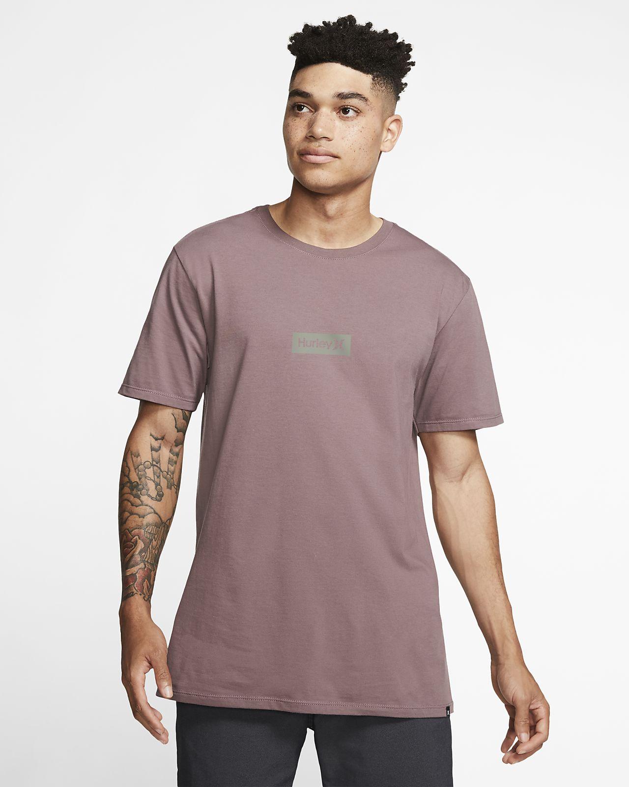 Hurley Premium One And Only Small Box Kaliteli Kesim Erkek Tişörtü