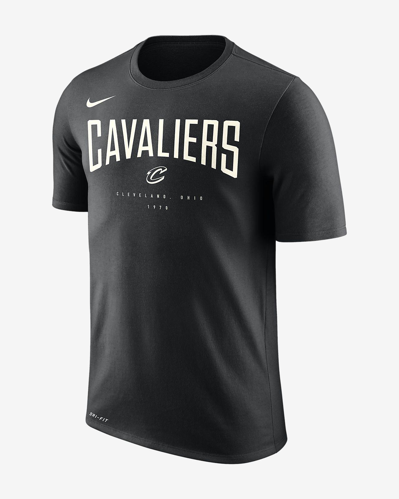 เสื้อยืด NBA ผู้ชาย Cleveland Cavaliers Nike Dri-FIT
