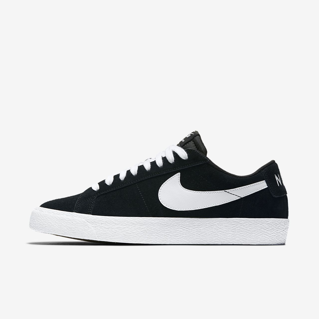 Nike - Blazer Low  Mens Skate Shoes - 864347-019  Black / White / Gum