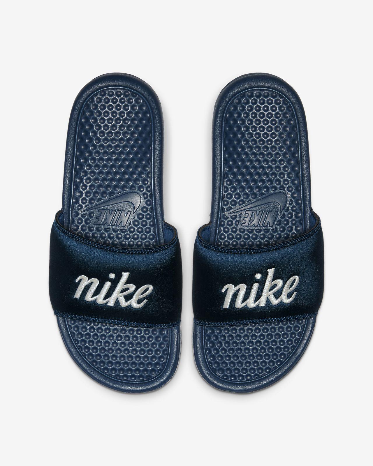 Nike Benassi JDI TXT SE Xancletes - Dona