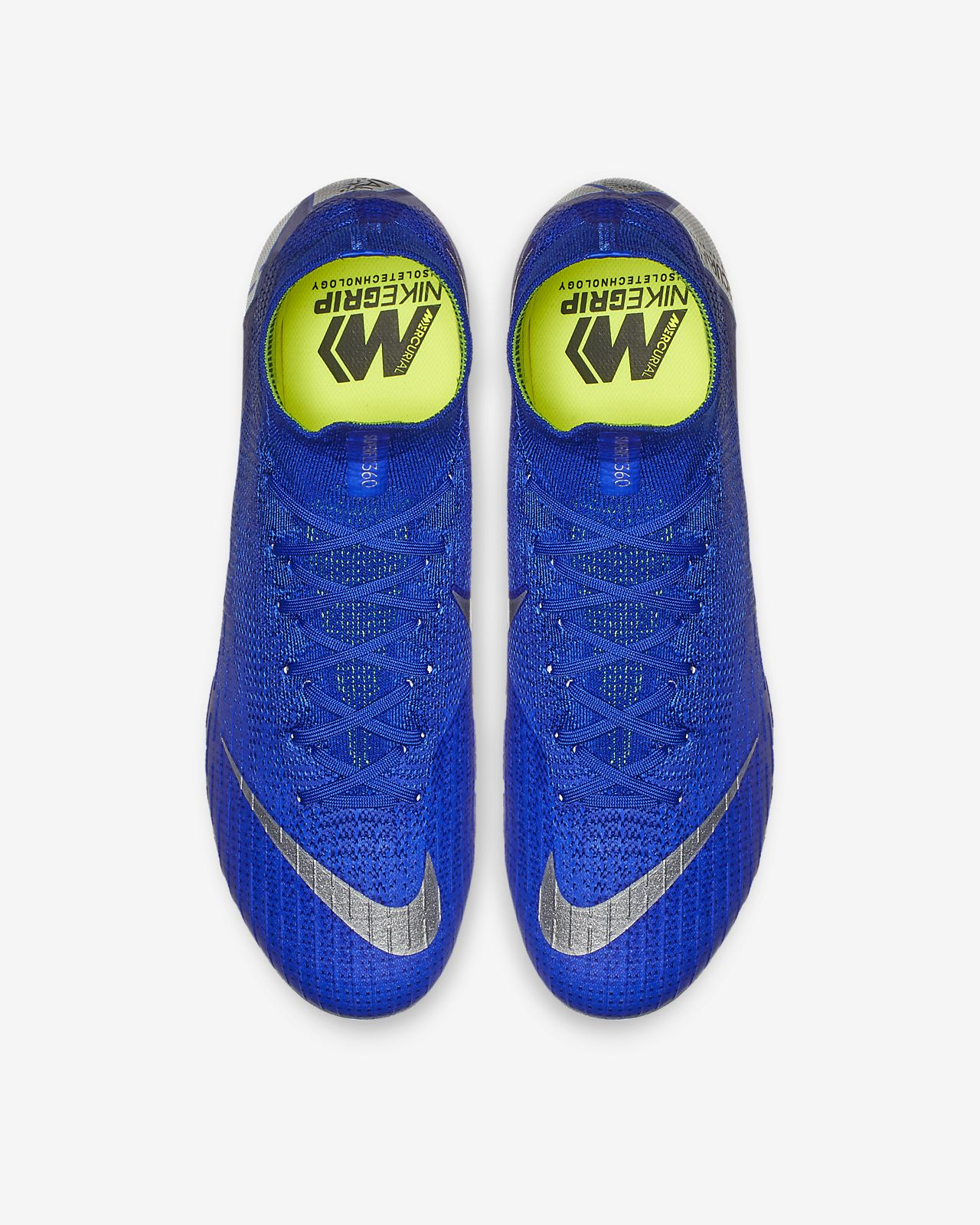 5cc23607bb49d real calzado de fútbol para terreno firme nike mercurial superfly 360 elite  firm ground 48c6c f6472
