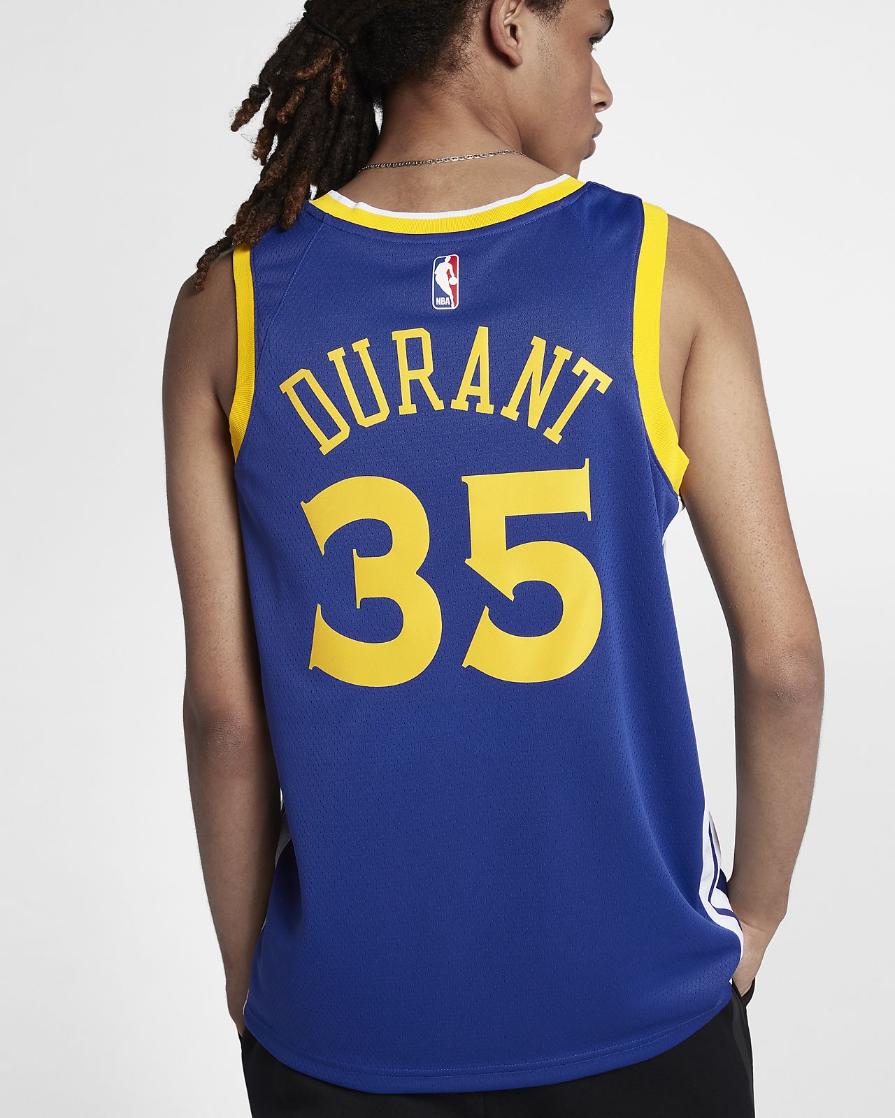 af018bd227f ... Kevin Durant Icon Edition Swingman (Golden State Warriors) Men s Nike  NBA Connected Jersey
