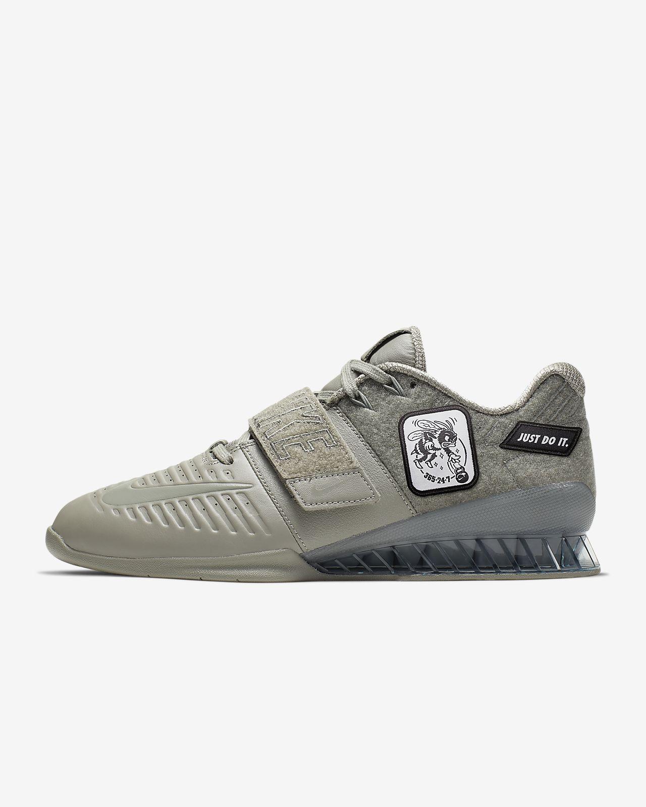 buy popular eb5cb 00463 Nike Romaleos 3 XD Patch-træningssko. Nike.com DK