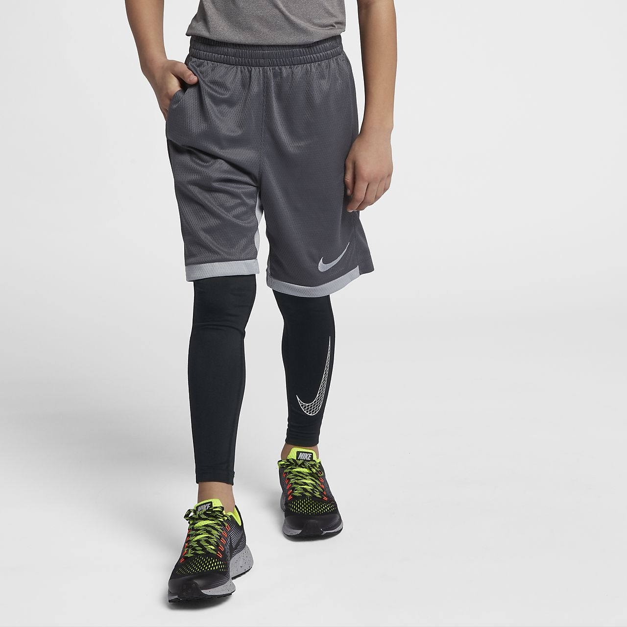 cheaper 45347 a165c ... Nike Pro Big Kids  (Boys ) Training Tights