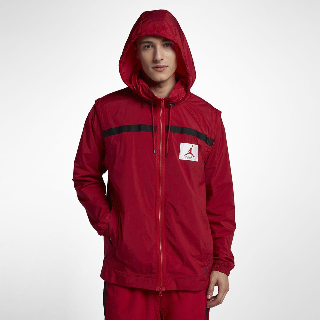 662865b659 ... order jordan sportswear wings of flight mens windbreaker 1db65 b2e52