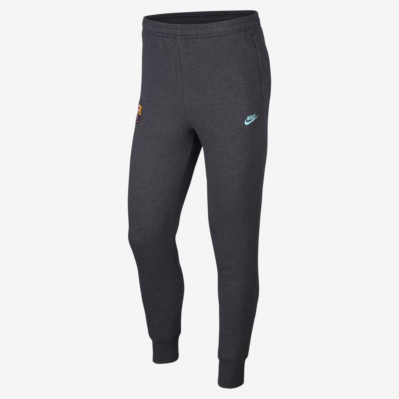 Pantalon de football en tissu Fleece FC Barcelona pour Homme