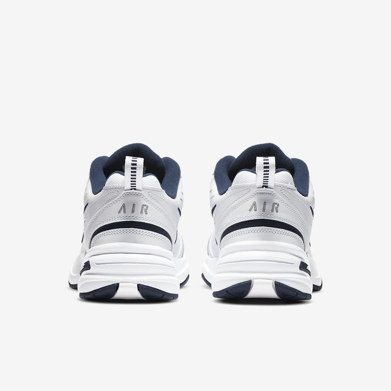 Nike Sportswear AIR MONARCH IV - Baskets basses - white/metallic silver Bas Prix Rabais Jeu À La Recherche De Achats En Ligne Jeu Acheter Pas Cher Livraison Rapide Livraison Rapide Pas Cher Rf8vPT55z6