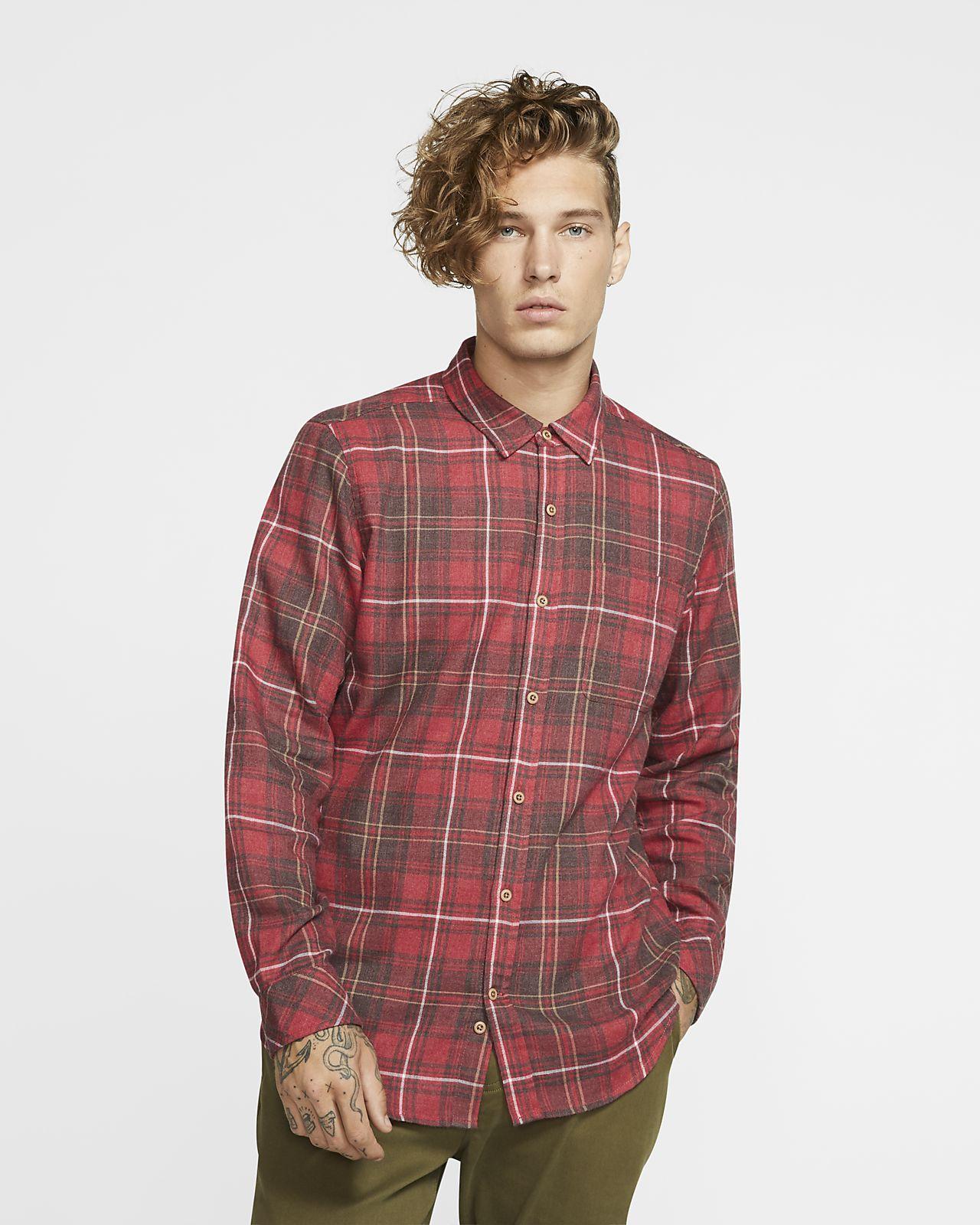 Hurley Vedder Washed Uzun Kollu Erkek Gömleği