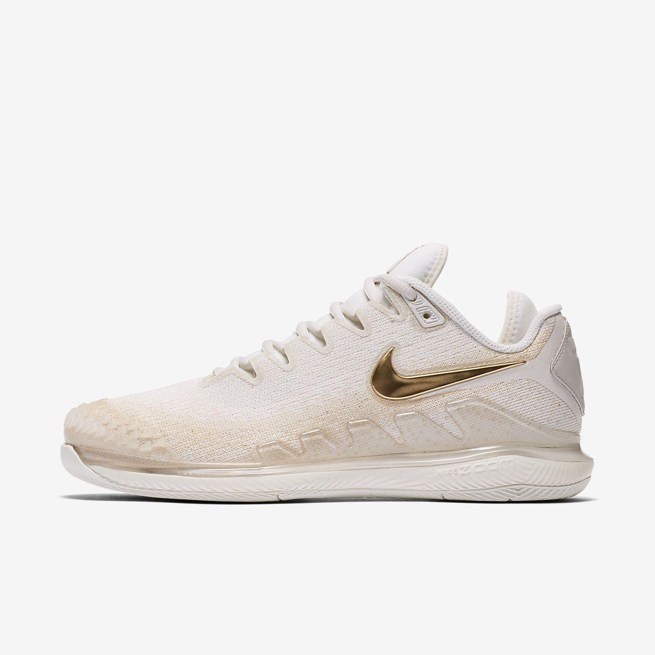 Calzado de tenis de cancha dura para mujer NikeCourt Air Zoom Vapor X Knit
