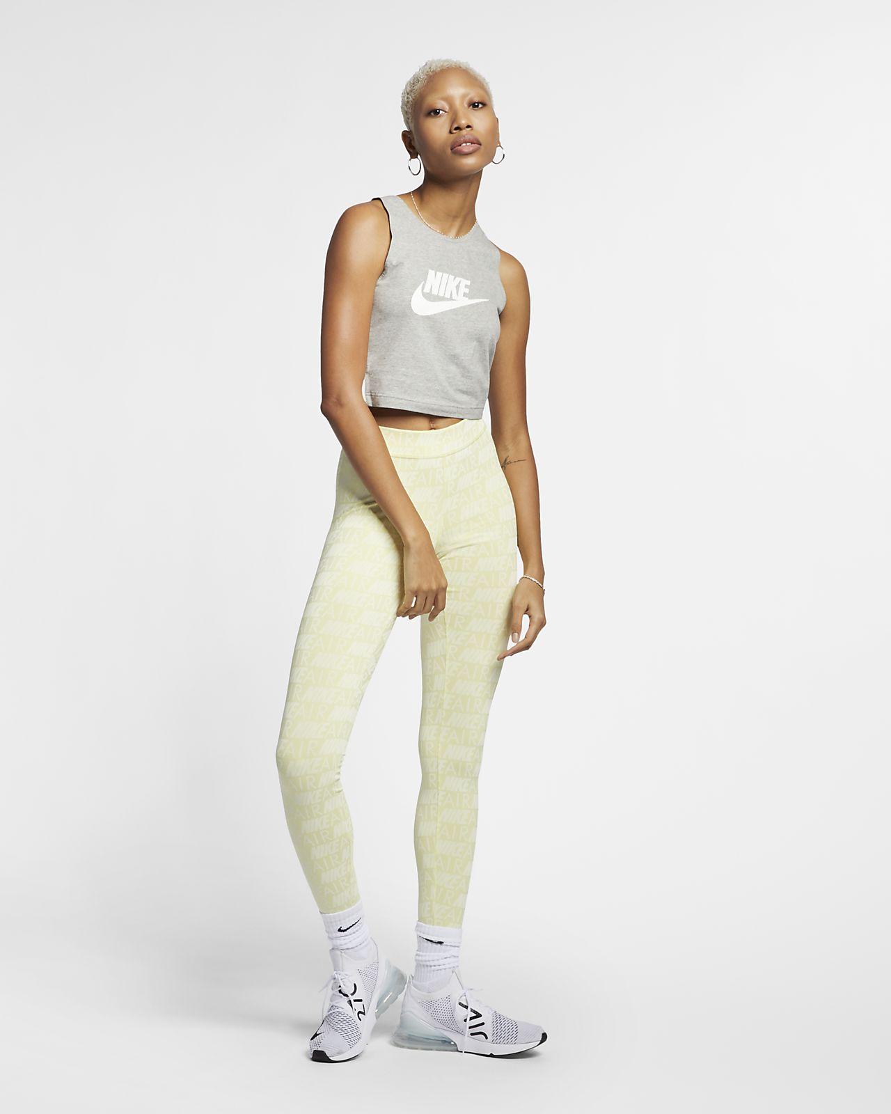 Leggings med tryck Nike Air för kvinnor