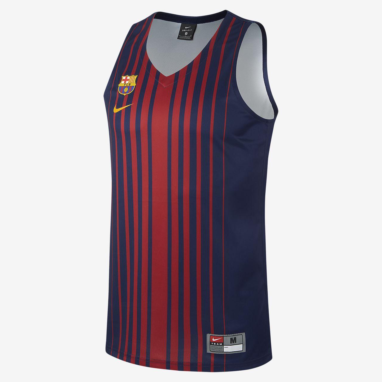 30d150ea9f6 Pánský basketbalový dres FC Barcelona Replica. Nike.com CZ