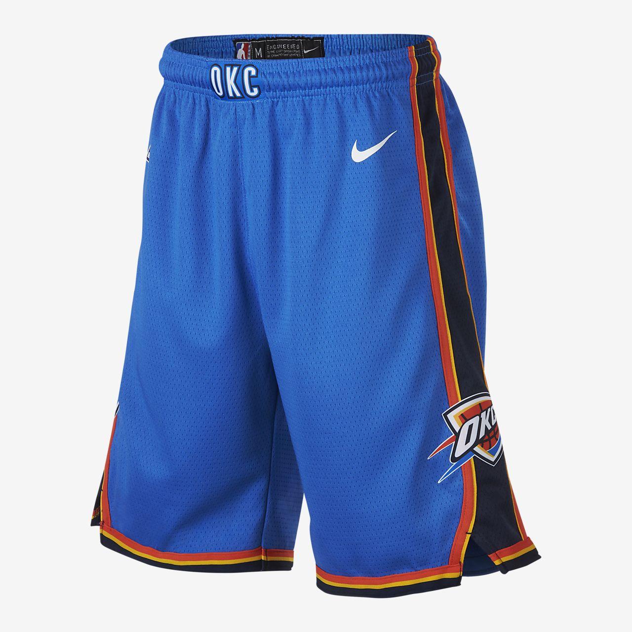 Short NBA Oklahoma City Thunder Nike Icon Edition Swingman pour Garçon plus âgé