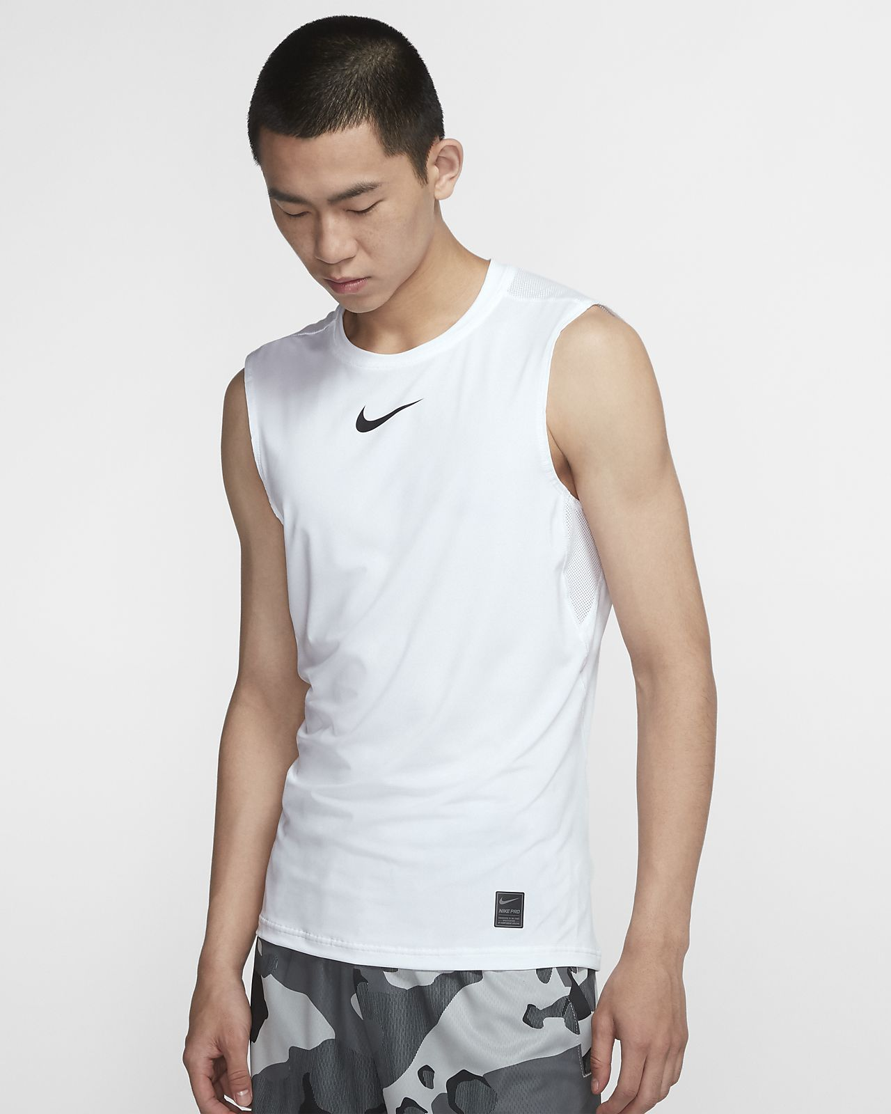 Nike Pro Fitted 男子无袖训练上衣
