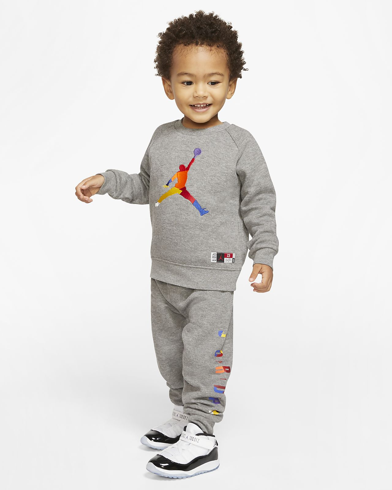 faire les courses pour nouvelle version super promotions Ensemble deux pièces haut et pantalon de jogging Jordan Jumpman pour Petit  enfant