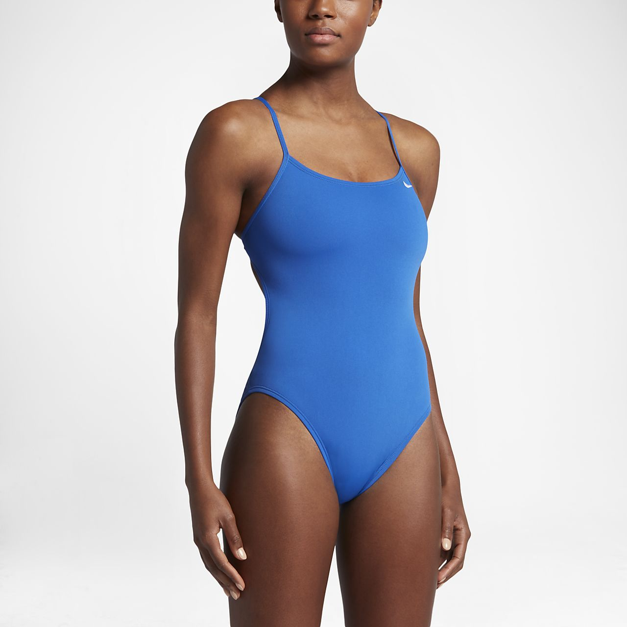Nike Poly Core Performance Cut-Out Women's Tank Swimsuit