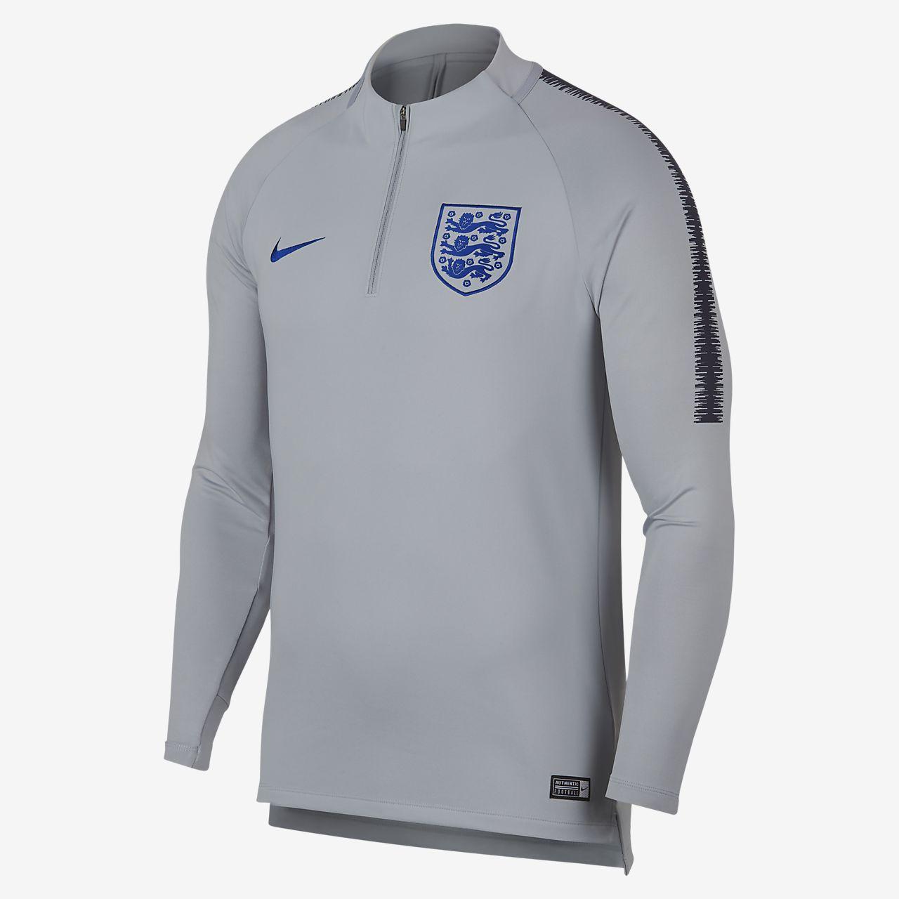 England Dri-FIT Squad Drill Samarreta de futbol de màniga llarga - Home