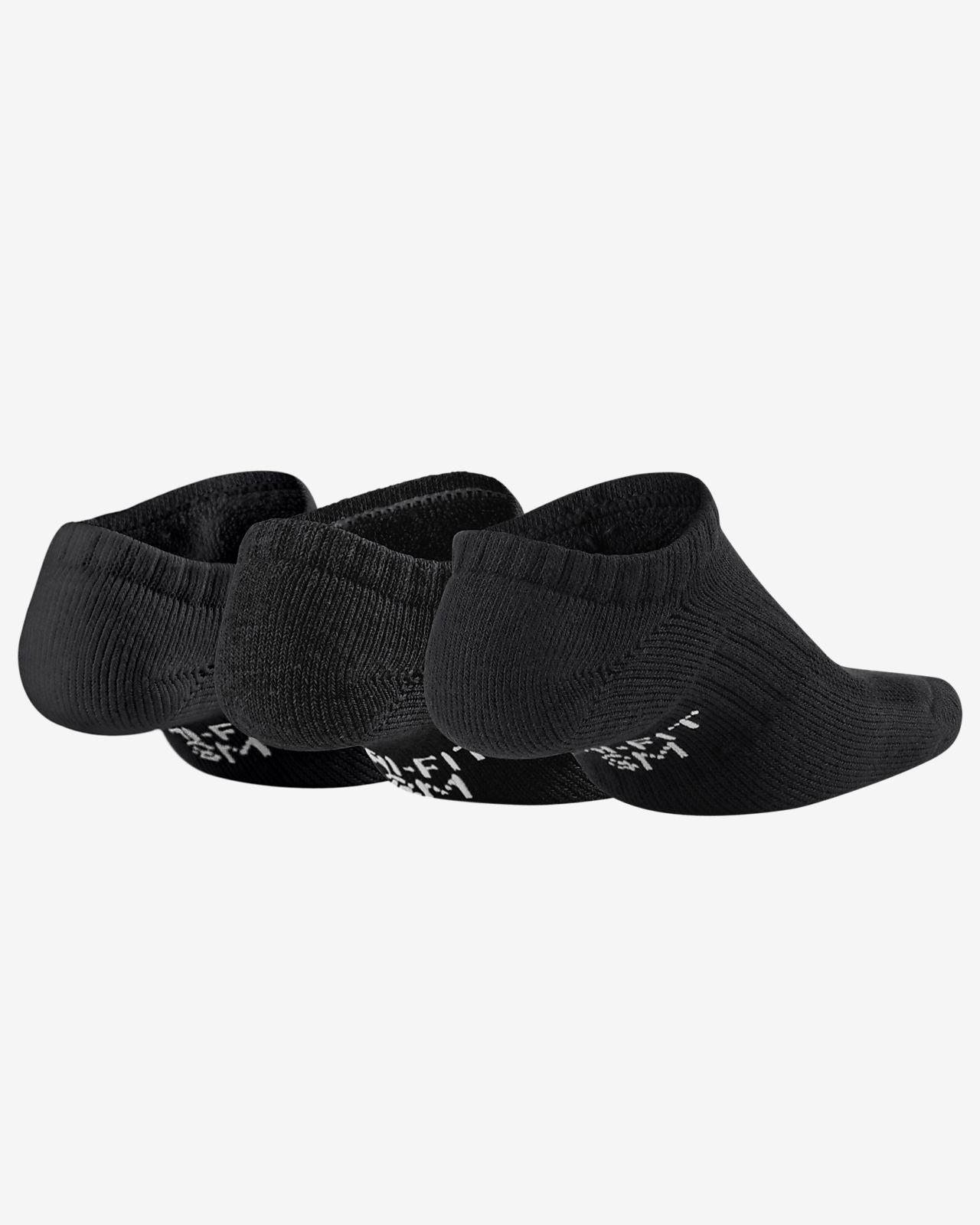best service dd29a 71e11 ... Chaussettes de training Nike Performance Cushioned No-Show pour Enfant  (3 paires)