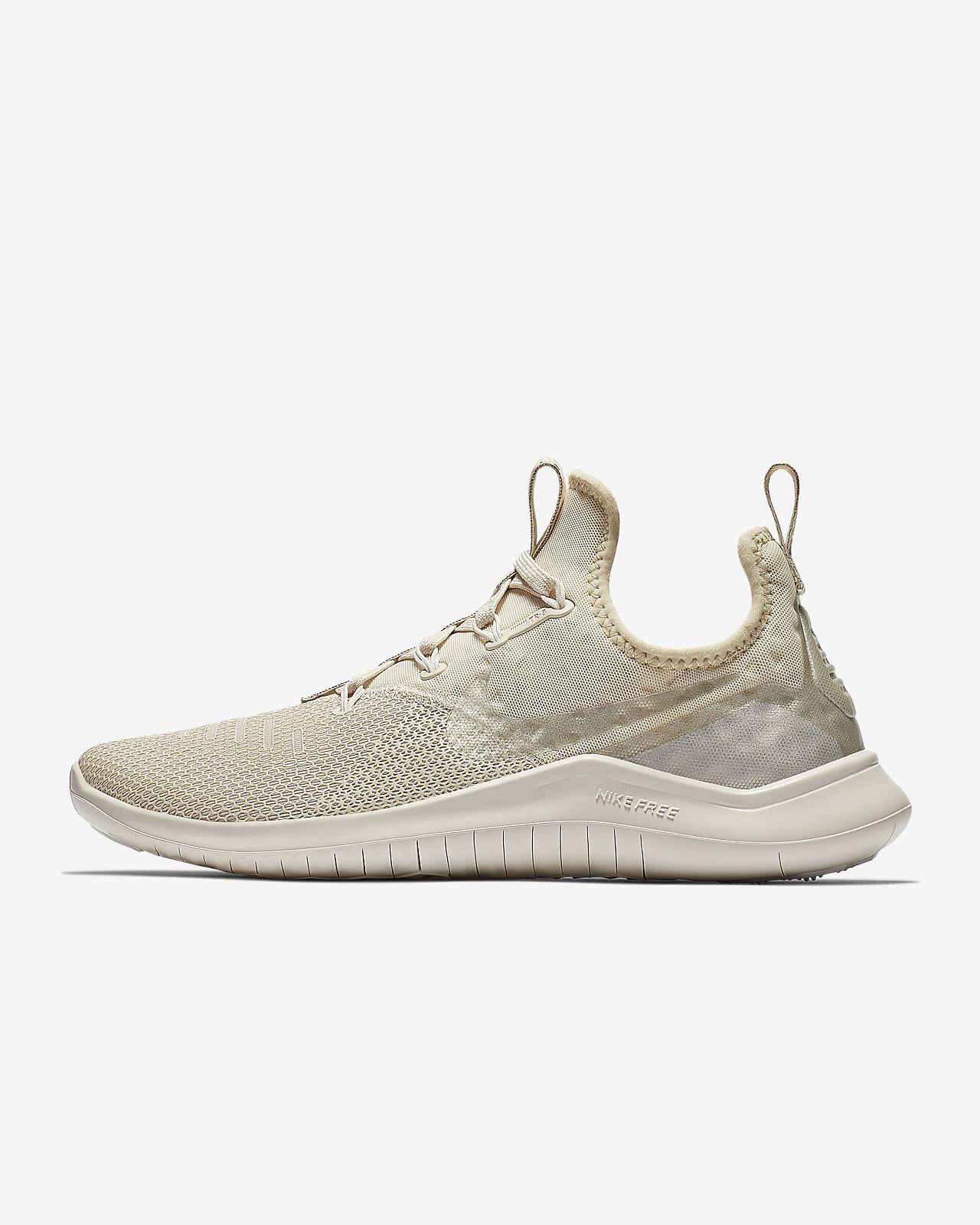 Detalles de Nike Free TR8 Champán Entrenamiento Zapatos Mujer Blanco Zapatillas Deportivas