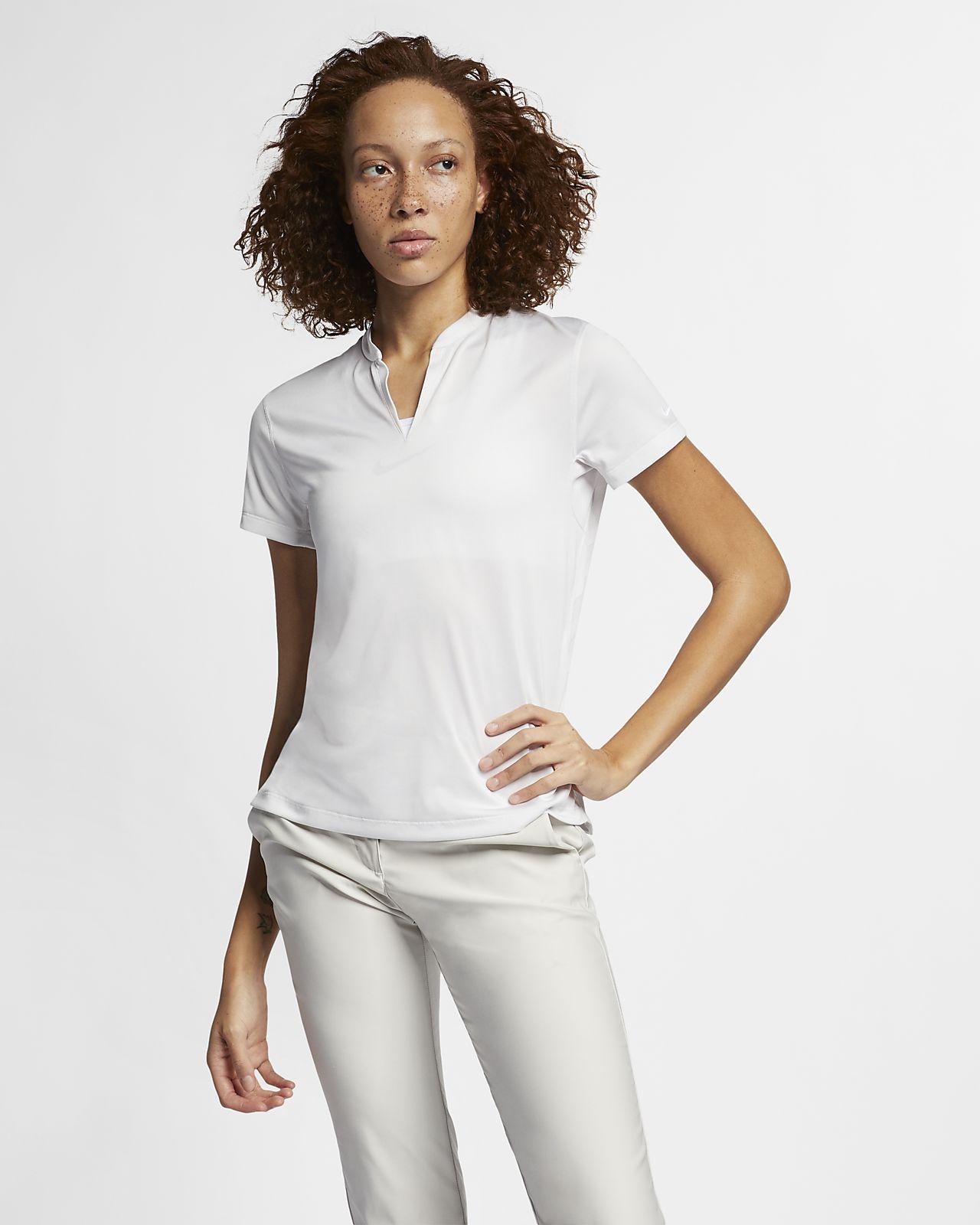 Женская рубашка-поло для гольфа Nike TechKnit Cool