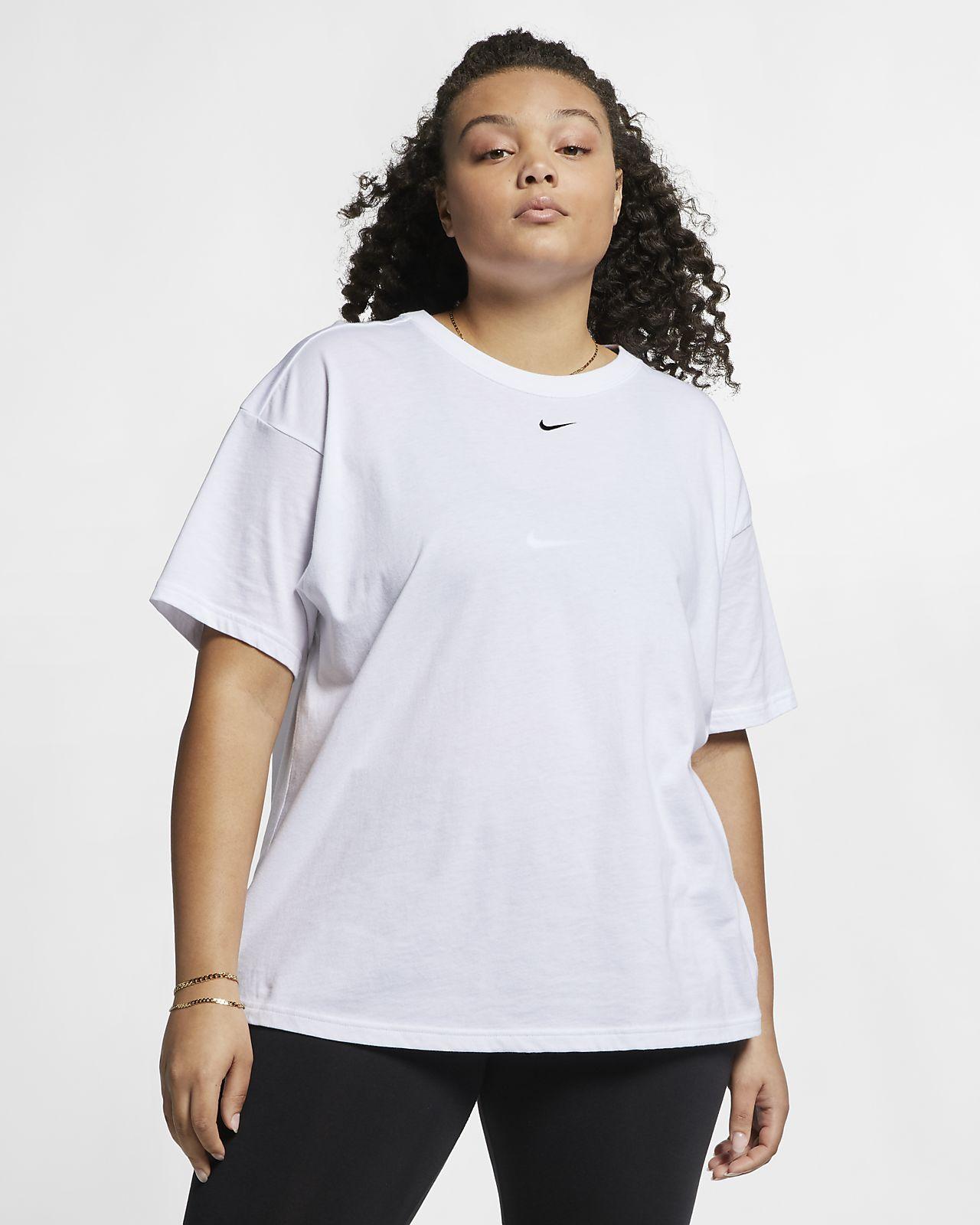 new product 5afea 96fca ... Kortärmad tröja Nike Sportswear Essential för kvinnor (Plus Size)