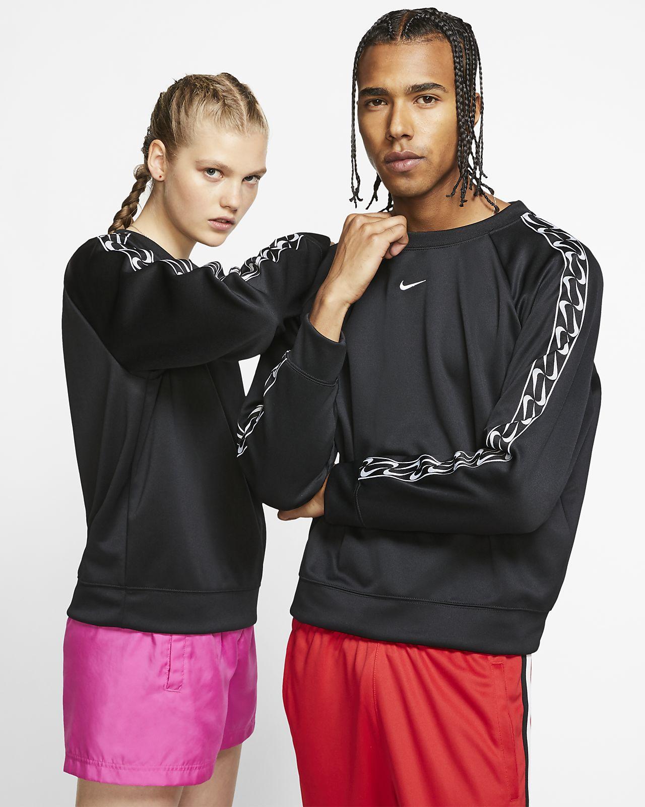 Logotröja med rundad hals Nike Sportswear