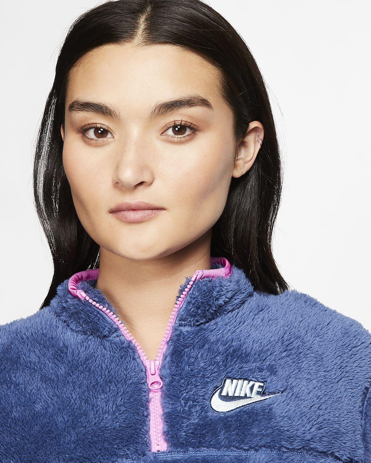 Nike Sherpa Fleece Sweatshirt Wmns